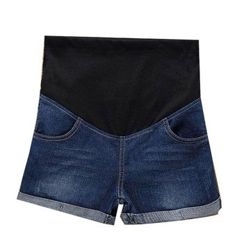 Hot Shorts M-5XL Maternity Short Pregnant Short Pregnancy pants Summer Maternity  JeansAT_43_3