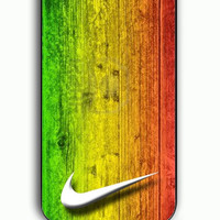 iPhone 5C Case - Rubber (TPU) Cover with nike reggae Rubber Case Design