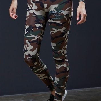 Sweat Crew Classic Leggings - Womens Pants