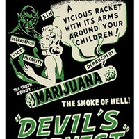 Devil's Harvest Metal Sign
