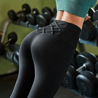 High Waist Tummy Control Gym Yoga Pants Sports Wear