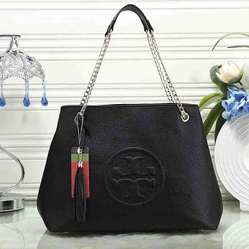 Tory Burch Women Fashion Leather Handbag Shoulder Bag Satchel