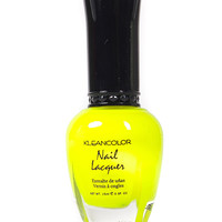 Neon Yellow Nail Polish
