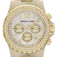 Michael Kors 'Madison' Resin & Crystal Watch | Nordstrom