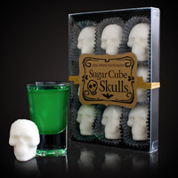 Sugar Cube Skulls at Firebox.com