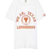University Of Texas Cutout Campus Tee - PINK - Victoria's Secret