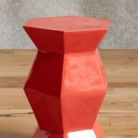 Lacquered Bead Side Table by Anthropologie