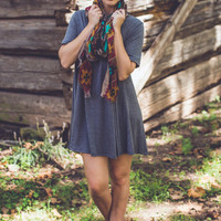 Everyday Tunic in Charcoal