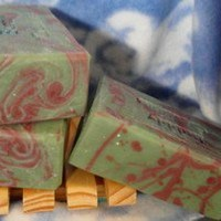 Painted Sorceress Handmade Soap Ginger Lime Scented