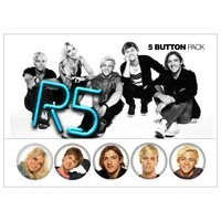 R5 Band Button Pack | R5 Rocks