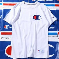 Champion T shirt for men and women lovers White