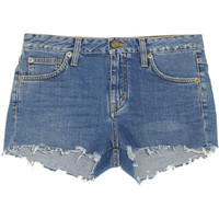 Saint Laurent - Cut-off denim shorts