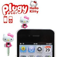 Sanrio Hello Kitty Plugy Earphone Jack Accessory (Pink)