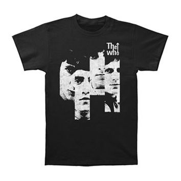 Who Men's  Sections T-shirt Black