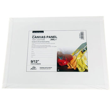 16x20 Cotton Canvas Panels -Pack of 6