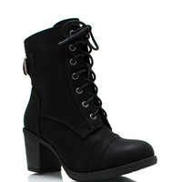 Lace-Up-Victorian-Boots BLACK - GoJane.com