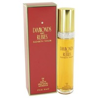 DIAMONDS & RUBIES by Elizabeth Taylor Eau De Toilette Spray 1.7 oz (Women)