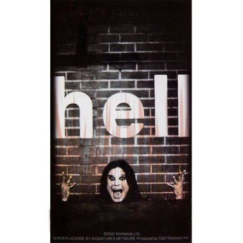 Ozzy Osbourne - Hell Decal