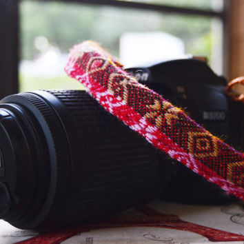Multicolor Camera Strap