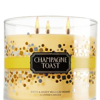 Champagne Toast 14.5 oz. 3-Wick Candle   - Slatkin & Co. - Bath & Body Works