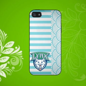 Minnesota Lynx logo Case for iPhone, Samsung Galaxy S2/S3/S4, Samsung, HTC and Blackberry