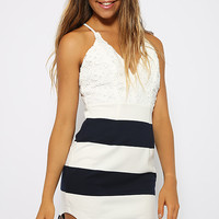 Effie Dress - Stripe