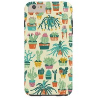 Cactus Pattern Fabric iPhone 6 Plus Case