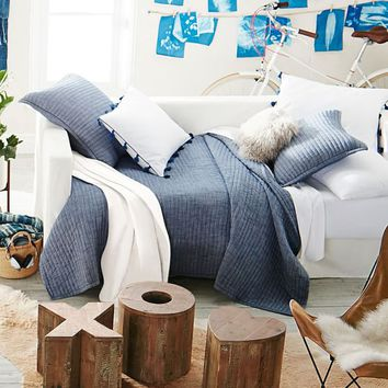 Classic Chambray Quilt + Sham