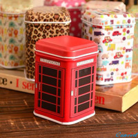 Happy Gifts High Quality Awesome Metal Candy Trinket Tin Jewelry Iron Tea Coin Storage Square Box Case