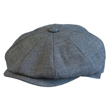 Broner Commuter Lined Newsboy Cap