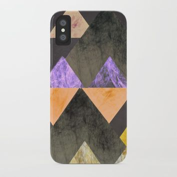 Marble Mountains iPhone Case by sm0w