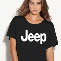 Jeep boxy ladies tshirt