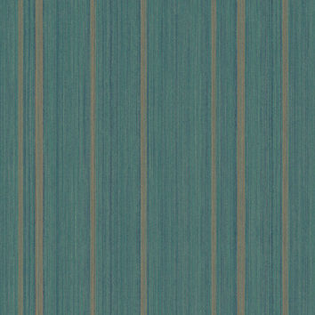 Sample of Morocco Stria Wallpaper in Greens, Blues, and Metallic design by Seabrook Wallcoverings