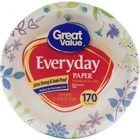 """Great Value 8.5"""" Everyday Paper Plate, 170 ct - Walmart.com"""
