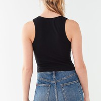 Truly Madly Deeply Plunging Tank Top | Urban Outfitters