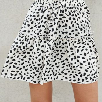 Just For Me Skirt (Leopard)