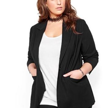 Michel Studio Long-Sleeved Blazer | Addition Elle