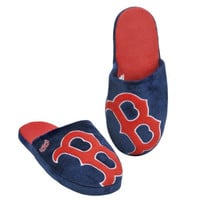 MLB Boston Red Sox 2011 Big Logo Slide Slipper Hard Sole Small