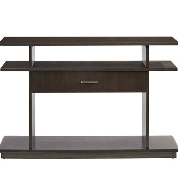 Xanadu Contemporary Sofa/Console Table Dark Espresso