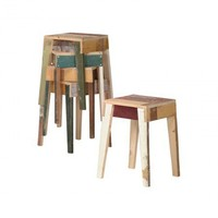 Stool in Scrapwood - Living