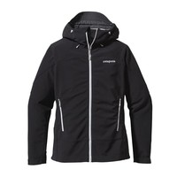 Patagonia Women's Adze Windproof Fleece Hoody | Black w/Tailored Grey