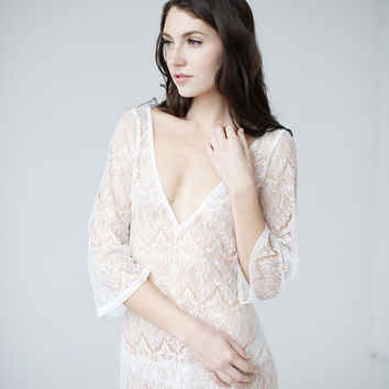 Lace Tunic - Priscilla - ready to ship