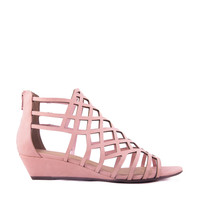 Honeycomb Low Wedge Sandal