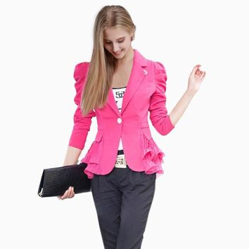 Fashion Long Sleeves Blazer