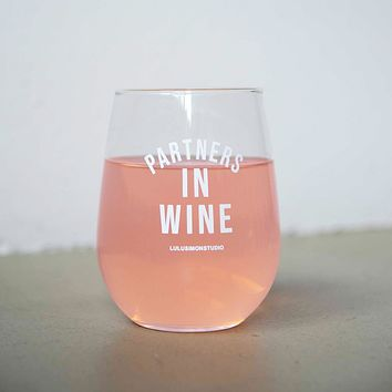 PARTNERS IN WINE STEMLESS WINE GLASS