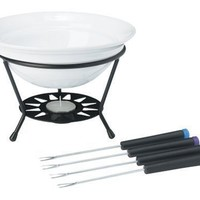Trudeau Sundial Chocolate Fondue 7 Piece Set