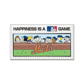 NEW YORK METS PEANUTS GANG HAPPINESS IS A GAME COLLECTOR PIN BRAND NEW WINCRAFT