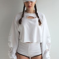 RIP003 white sweat by Rip Apparel
