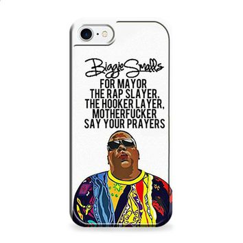 Biggie Smalls Quotes iPhone 6 | iPhone 6S case