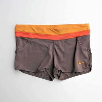 Retro Running Shorts Jersey Shorts Nike Dri-fit Colorblock Crew Running Shorts S